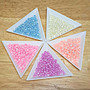 【DIY】4mm 玻璃油珠 粉色系珠光米珠【10克12元】【30217】