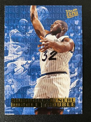 Shaquille O'Neal 1995-96 Ultra Double Trouble #6