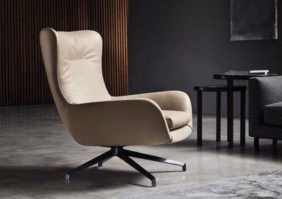 [米蘭諾家具]訂製款 復刻近原裝Minotti Jensen單椅 沙發 可訂做皮或布料 台灣嚴選工廠製造