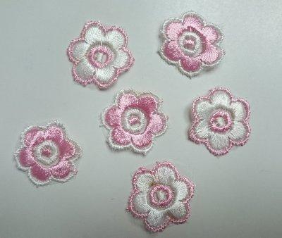 【蕾絲工坊】↙DIY手作材料↗ 刺繡蕾絲貼布貼*M02012*
