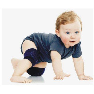 夏季嬰兒寶寶爬行袖套點膠防滑爬行 護具 兒童護膝 護肘
