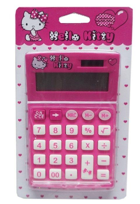 佳佳玩具 ----- 三麗鷗 正版授權 Hello kitty 凱蒂貓 12位元 太陽能 計算機 【3035449】