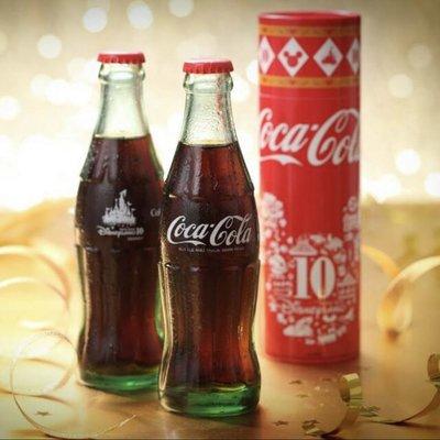 香港迪士尼10 周年紀念可口可樂 限量版 Coca Cola Disneyland 限量4500支