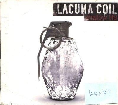 *真音樂* LACUNA COIL / SHALLOW 德版 二手 K4247 (內殼破)  (清倉.下標賣2)