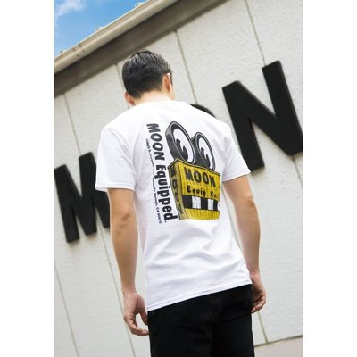 (I LOVE樂多) MOON Equip. Co. Sign T-shirt 短袖上衣 S~XXL[MQT167WH]