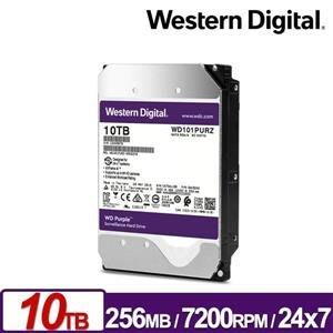 @電子街3C特賣會@全新 WD WD102PURZ 紫標10TB 3.5吋監控系統硬碟(AI) 監控硬碟 奇亞幣CHIA