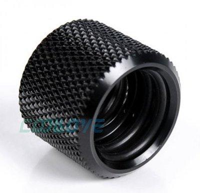 小白的 工場~BY 硬管對接 串接延長 型接頭 BYTYDJ14~V1  銀 黑兩色   14mm外徑硬管用