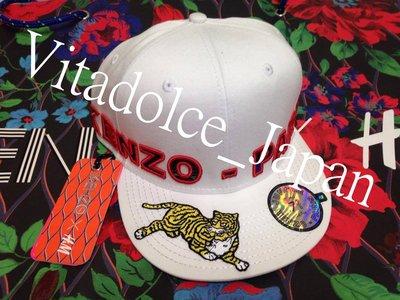 【現貨】KENZO X H&M 聯名系列 刺繡 棒球帽 老虎 經典 白色 S號 春夏 夏天 男女皆可戴
