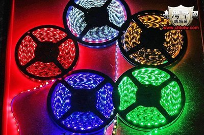 5050 LED 防水燈帶 5米為300顆LED