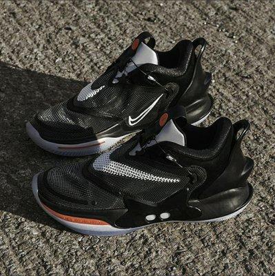 Nike Hyper Adapt 2.0 BB 實戰 科技 回到未來 自動綁鞋帶 球鞋 打球 練球 球隊 戰隊 Air Zoom Turbo 黑色 各尺寸