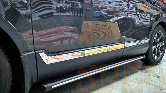 SUGO汽車精品 本田HONDA CRV 5代 專用驗車必過 車側踏板  原廠孔位直上款