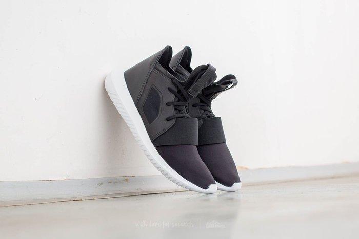 【Shopa】現貨 特價 ADIDAS TUBULAR Defiant DFNT 繃帶 黑白 女鞋 S75249