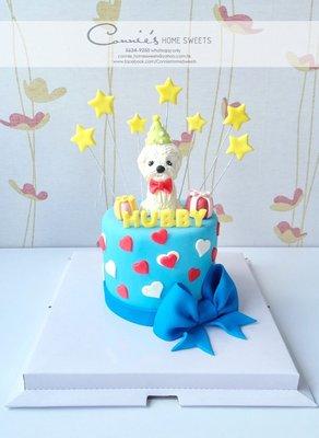 【Connie's Home Sweets】狗仔生日蛋糕專門店 手工蛋糕 可造不同主題蛋糕 3D蛋糕 Birthday Cake 3D cake
