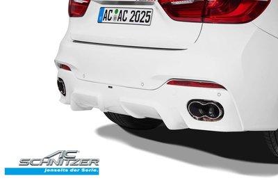 【樂駒】AC Schnitzer BMW X6 F16 後保桿 無M-technic 35i 30d 素材 改裝