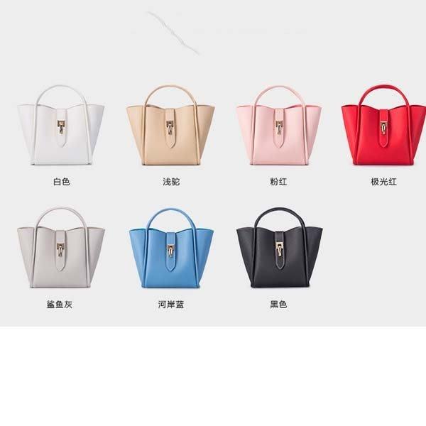 5Cgo【鴿樓】會員有優惠  536959902634 女包包歐美時尚子母包小手提包流行女純色小包簡便斜跨手提包