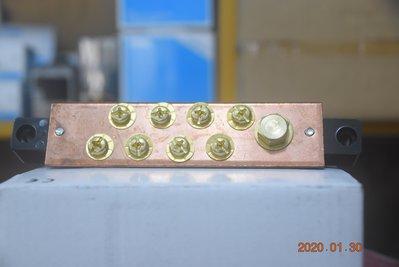 動力接地端子板 動力接地板 8P 8點 150A 動力端子板 八點