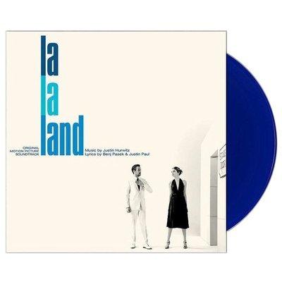 電影原聲帶La La Land樂來越愛你限量LP藍膠唱片彩膠唱片(Blue Vinyl)