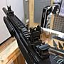 【領航員會館】KJ 戰術折疊準心照門組 適用寬軌魚骨 生存遊戲瓦斯槍長槍步槍Flip-up sights KA01準星