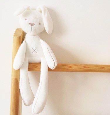 嬰兒陪睡抱枕 長耳兔子玩偶娃娃公仔 安撫益智毛絨玩具寶寶禮物_☆找好物FINDGOODS☆