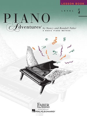 ~599免 ~英文版 芬貝爾5教本~Piano Adventure 5 Lesson~HL