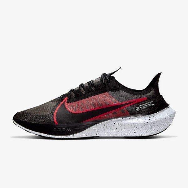 南 2019 11月 Nike Zoom Gravity M BQ3202-005 慢跑鞋 輕量 透氣 黑色 紅色 黑白
