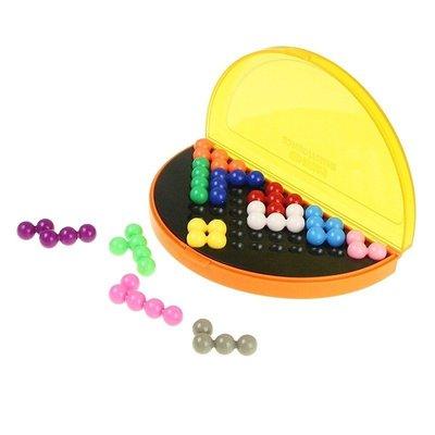 兒童益智玩具 智慧金字塔 3D立體拼圖 積木 桌遊 親子互動遊戲 腦力開發 邏輯思考 拼圖 腦力激盪 兒童禮物 獎勵...