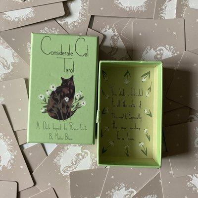 塔羅牌【現貨】進口正版原裝溫柔貓塔羅牌 Considerate Cat Tarot卡羅牌