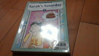 Step ahead english 何嘉仁菁英美語 Sarah's Saturday 故事讀本5句型.發音(全新)4本