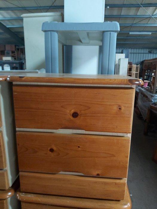 巨業搬運寄倉=更新二手倉庫 床頭櫃 床邊櫃 收納櫃 置物櫃 抽屜櫃