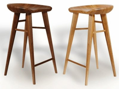 ☆[新荷手作]NH☆ 全實木吧椅 高75CM ※ 北歐風格吧椅 實木 吧椅 中島椅 酒吧椅 咖啡椅