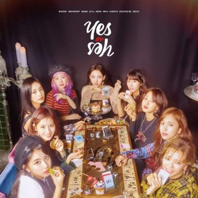 TWICE YES or YES 海報