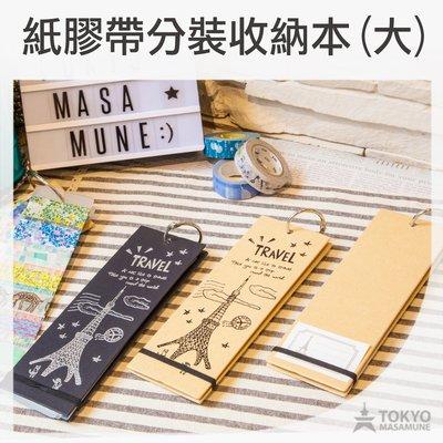 【東京正宗】 貓行李系列 紙膠帶 分裝 收納本 分裝本 (大) 共3款 CST-215