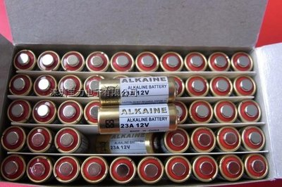 12V 23A 防盜鎖音樂門鈴發射器 23A 12V 卷閘門無線遙控器L1028電池(一次性的電池)
