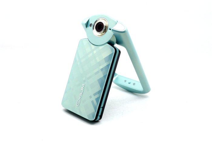 【台中青蘋果】Casio TR60 TR-60 綠 自拍神器 二手 數位相機 公司貨 #37123