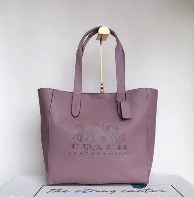 COACH 25099 新款柔軟牛皮大容量購物袋 手提肩背包