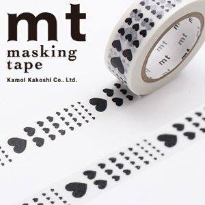 《Greens selection》日本MT紙膠帶/ mt Masking Tape /  經典款 / 愛心圖騰