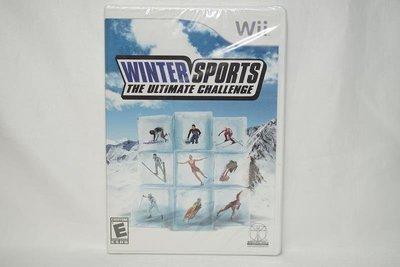 美版 Wii WINTER SPORTS THE ULTIMATE CHALLENGE