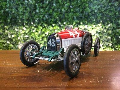 1/18 CMC Bugatti T35 1924 Hungary M100 (B014)【MGM】