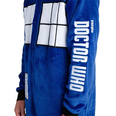 【丹】TG_Doctor Who TARDIS Hooded Lounger 超時空奇俠 連身衣 睡衣