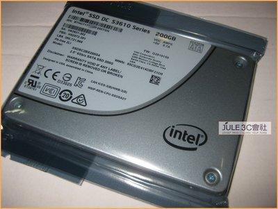 JULE 3C會社-INTEL SSD DC S3610 200GB 200G 企業級/ 全新/ 2.5/ SATA 3 硬碟 新竹市