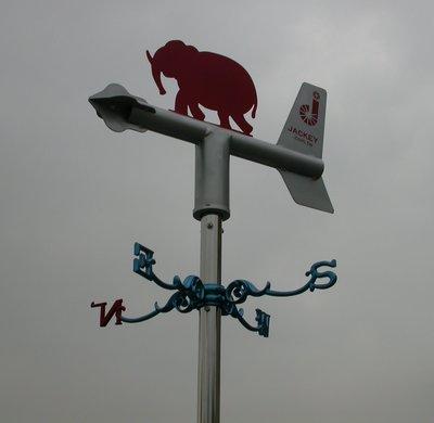 工安用景觀風向機(風向計風向儀) wind vane, JK Wind Compass,  JK-28E  JK-28R