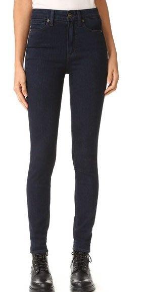 ◎美國代買◎PAIGE Margot Ultra Skinny 深藍刷色高腰顯廋牛仔褲