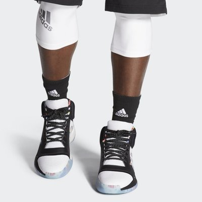 》P.S 》ADIDAS MARQUEE BOOST 黑 世界盃 籃球賽 限定款 高筒 籃球鞋 男鞋 EG1538