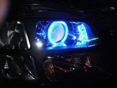 》傑暘國際車身部品《 SOLIO NIPPY燻黑魚眼CCFL光圈大燈一組5500元