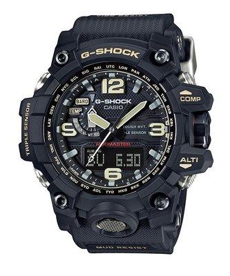 聊聊有優惠價 CASIO 卡西歐 G-SHOCK 黑 登山錶 高度/方位/溫度/氣壓 原廠公司貨 GWG-1000-1ADR