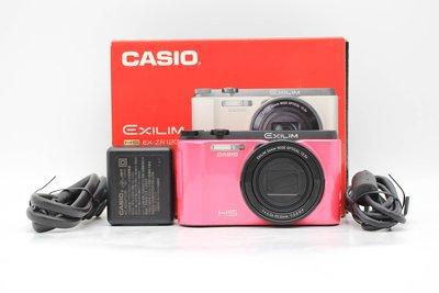 【高雄青蘋果3C】CASIO EX-ZR1200 桃紅 自拍美顏相機 二手數位相機 #46565