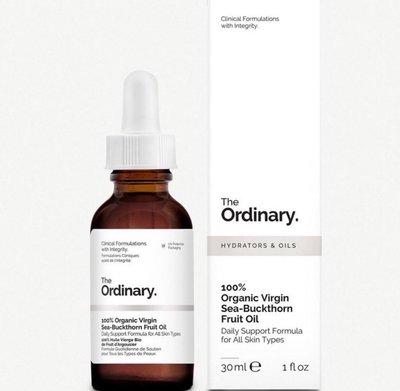 路克媽媽英國🇬🇧代購THE ORDINARY 有機沙棘果油 100% Organic Virgin Sea-Buckthorn Fruit Oil 30ml