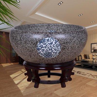 陶瓷魚缸養魚盆荷花缸烏龜缸碗蓮睡蓮盆客廳風水金魚缸T
