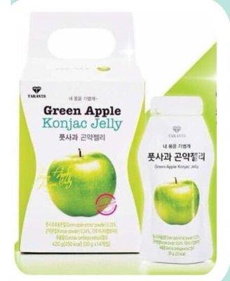 青蘋果纖體蒟蒻瘦身果凍