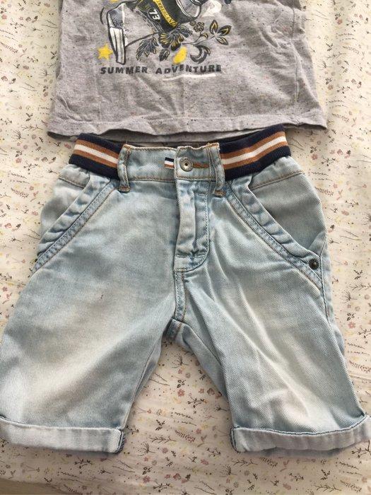 Timberland 男童帥氣牛仔短褲
